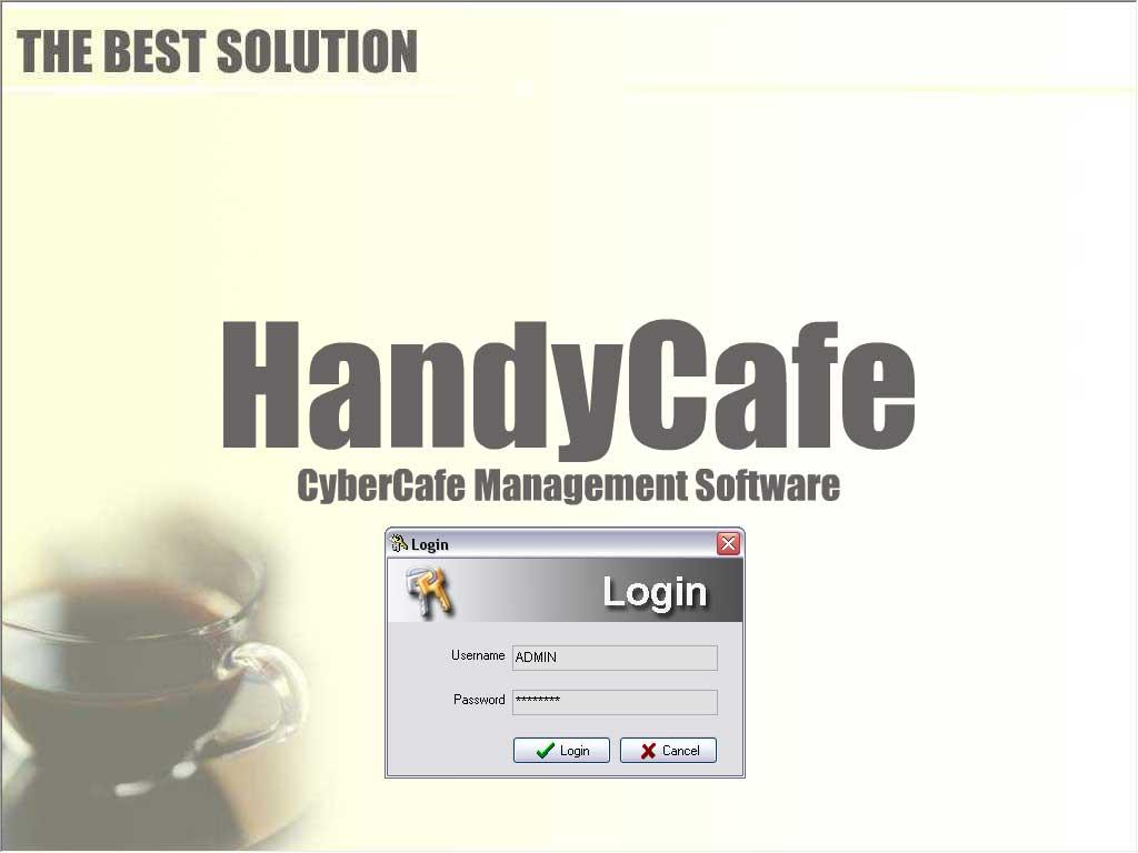 Secreenshots - handyCafe Internet Cafe Software